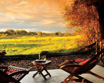 Sundowners and Tractor Tyre Rafting at The Hide