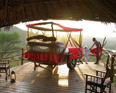Sleeping under the Kenyan Stars at Loisaba