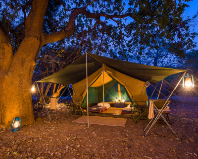 Tena Tena and a Touch of Luangwa Bush Camping.
