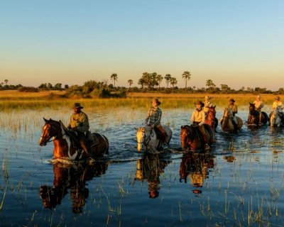 Exploring the Okavango Delta with African Horseback Safaris