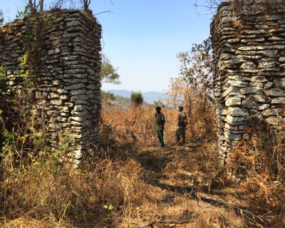 Visiting Fort Mangochi in Malawi with Pumulani