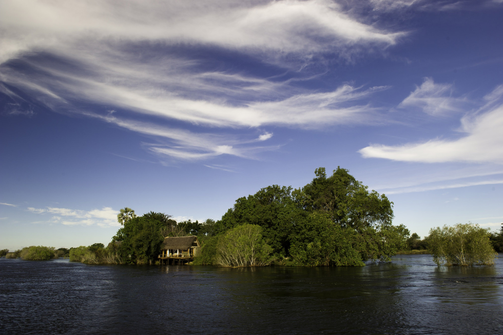 Experience paradise at Sindabezi Island