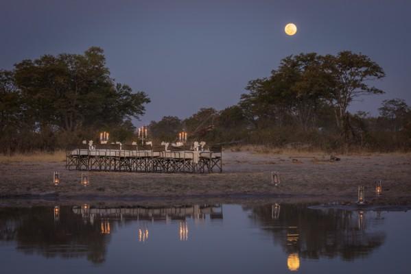 Macatoo Camp. African Horseback Safaris. Okavango Delta. Botswana