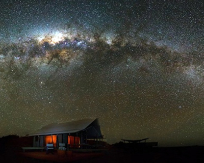 Experience the Dark Sky at Wolwedans Dune Camp