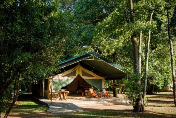 Glamping at Govenors' Il Moran Camp