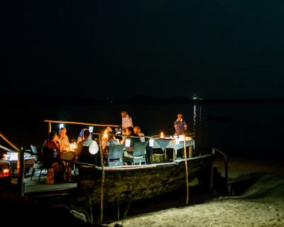Dining under the Stars at Pumulani Lodge