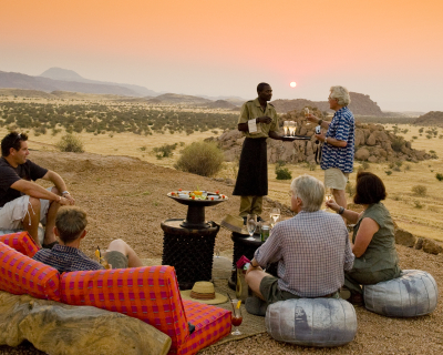 Safari Sundowners at Mowani