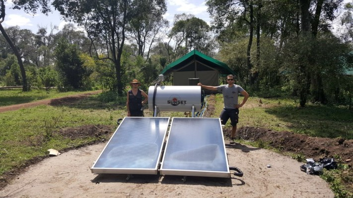 In order to track the amount of carbon that will be saved from these solar systems Little Governorsu0027 C& has also installed a large carbon counter which ... & Solar-Powered Safari at Little Governors | Classic Safari Camps | Blog