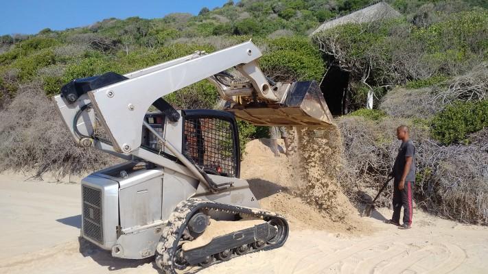 Repairing the nesting sites