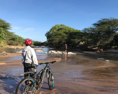 E-Bike Bush Ride at Cottars