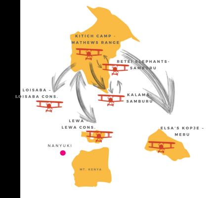 conservancy map