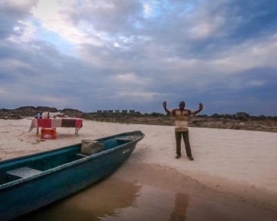 The Sindabezi Sand Bar