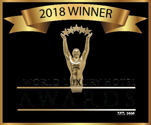 2018 Hotel Awards Winner logo (Black text, Transparent Background)