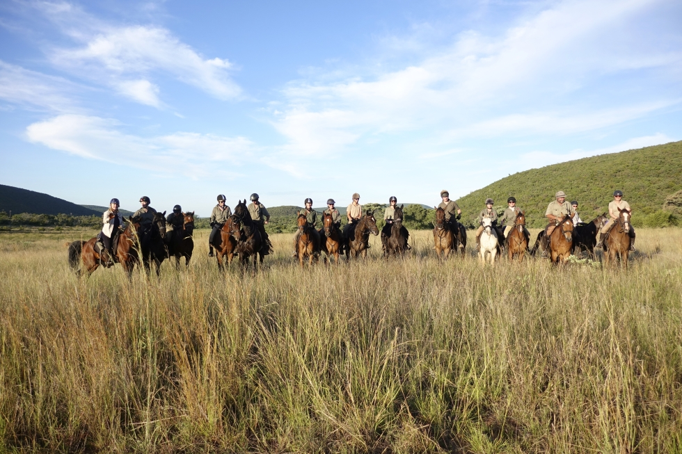 The Waterberg Trust Challenge Ride 2019 at Ant's Nest