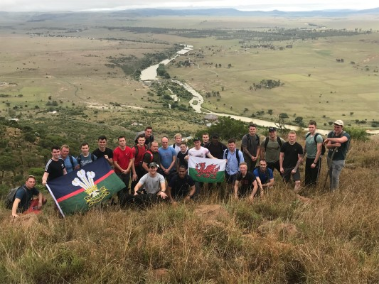 Royal Welsh in Zululand