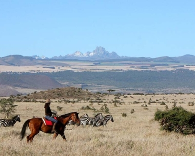 Zero-Emission Safaris at Lewa Wilderness
