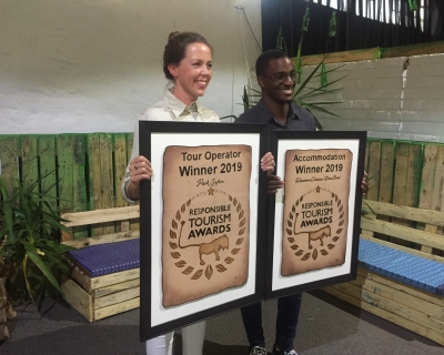 Wolwedans wins the acclaimed Responsible Tourism Award 2019