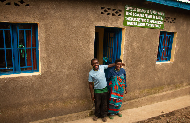 Mr and Mrs Nyirarudodo - new home owners!1