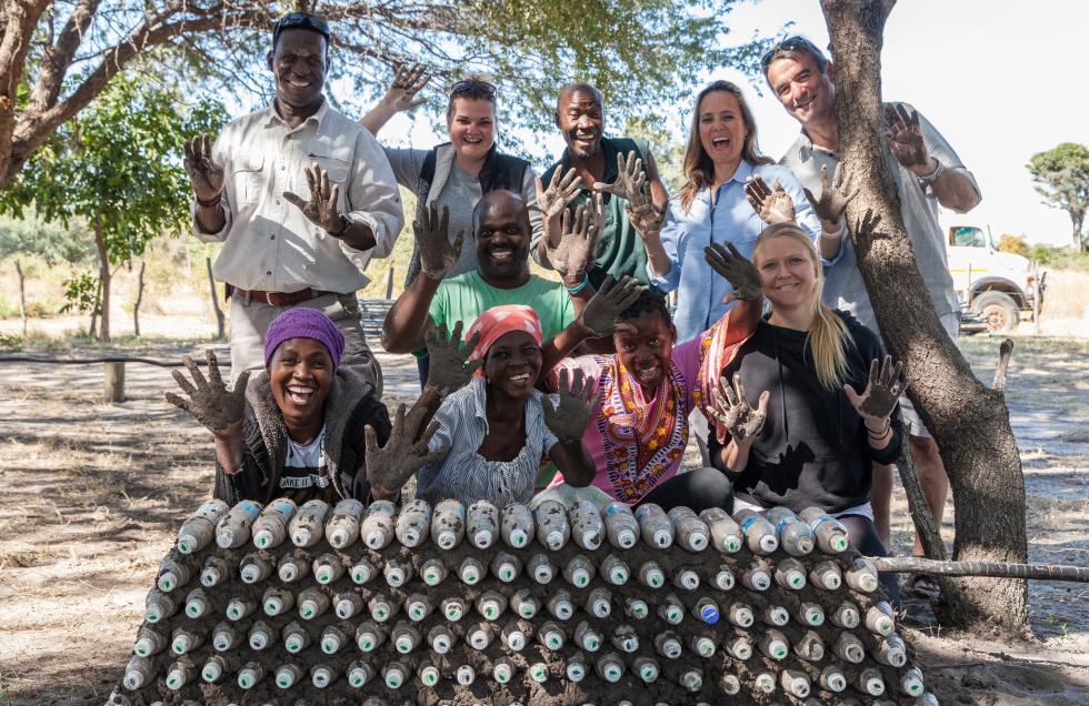 Re-use, Recycle and Reduce at Nambwa Tented Lodge