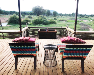 Welcome to the New Thlou Deck at Jaci's Safari Lodge