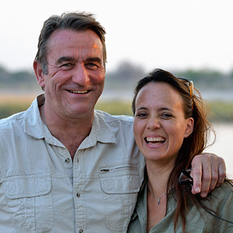 Tinolla Collins & Dusty Rodgers - Nambwa Tented Lodge, Namibia